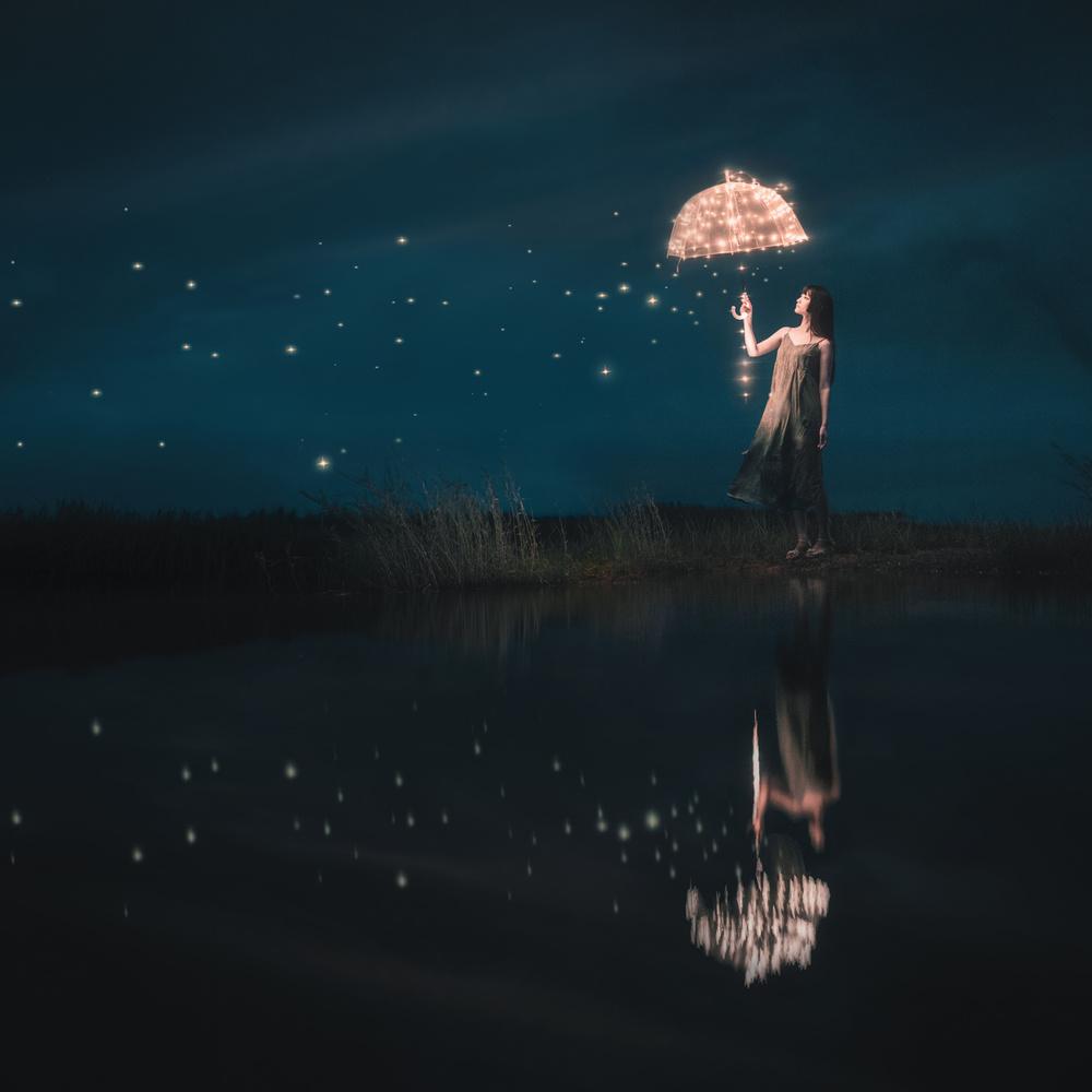 Fotokonst Starfall