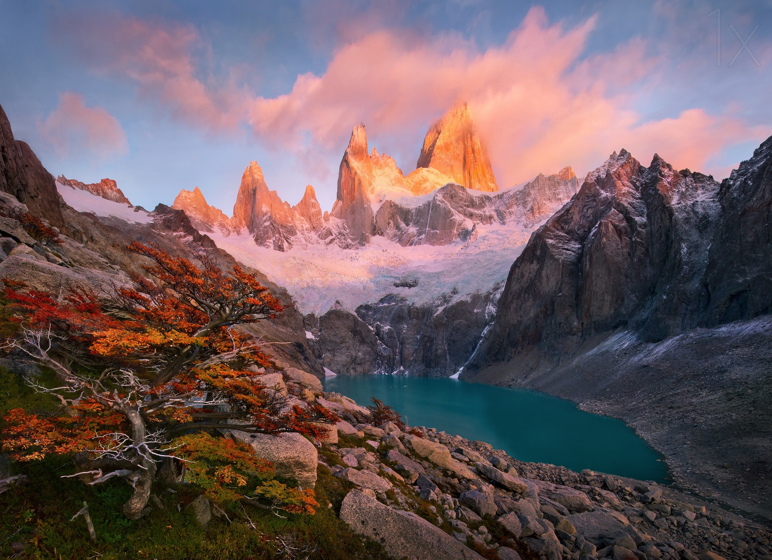 Patagonia South America >> Mount Fitz Roy, Patagonia- By Marc Adamus [2500x1814] : EarthPorn