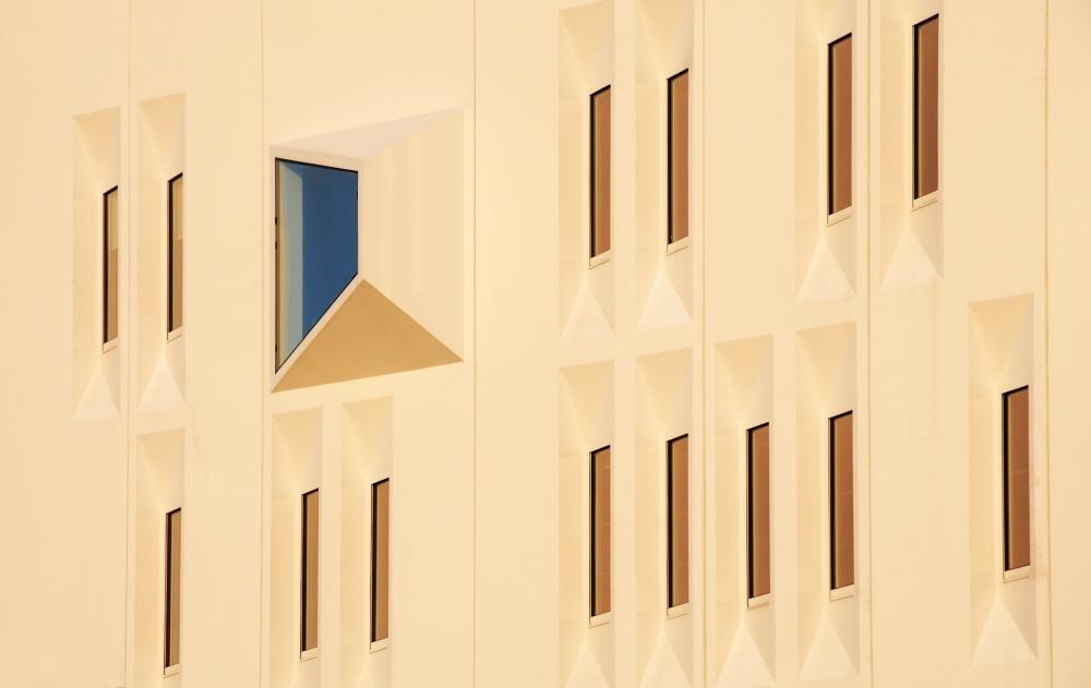 Poster Blue window