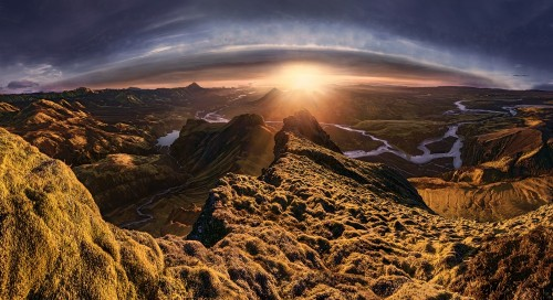 The Mountain's View by Max Rive
