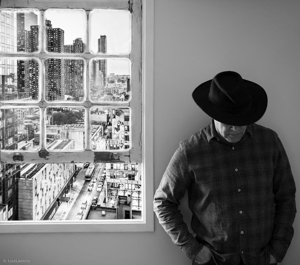 Fotokonst Man at the window