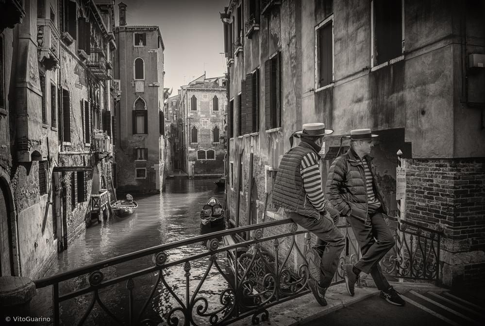 Fotokonst Gondolieri
