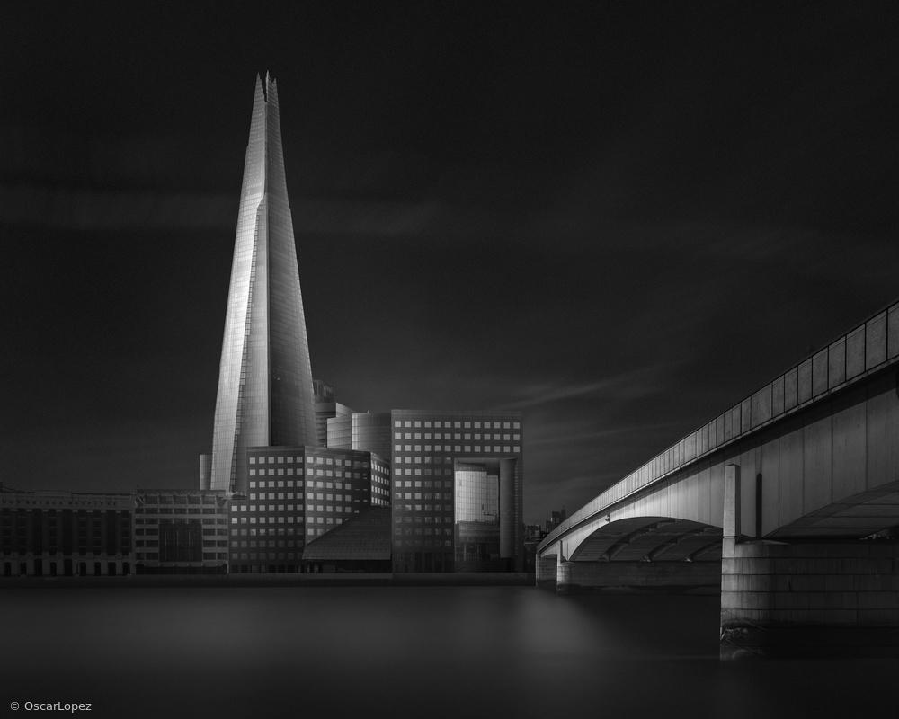 Fotokonst Lucid Dream II - The Shard & London Bridge