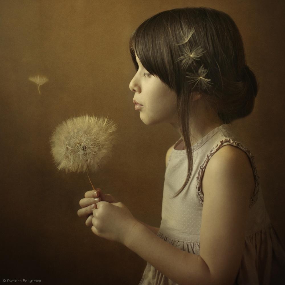 Fotokonst A Dandelion Poem