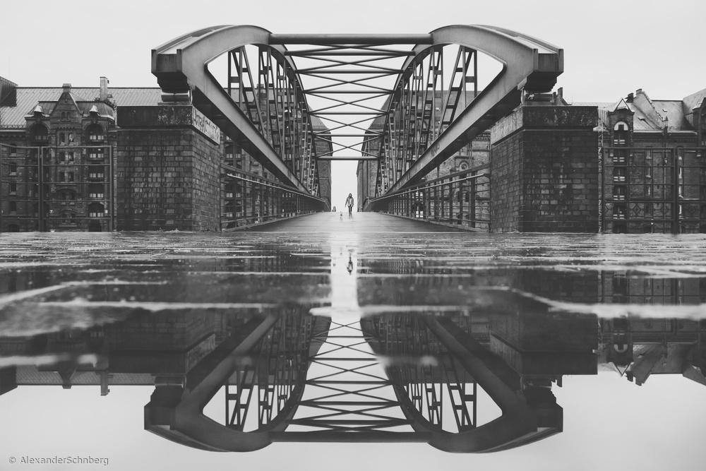 Fotokonst Kibbelsteg after rain