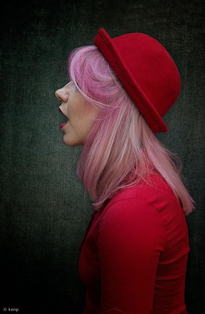 Fotokonst Miss Lovejoy