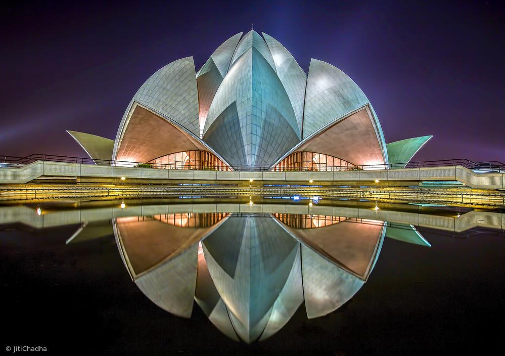 Fotokonst The Lotus Temple