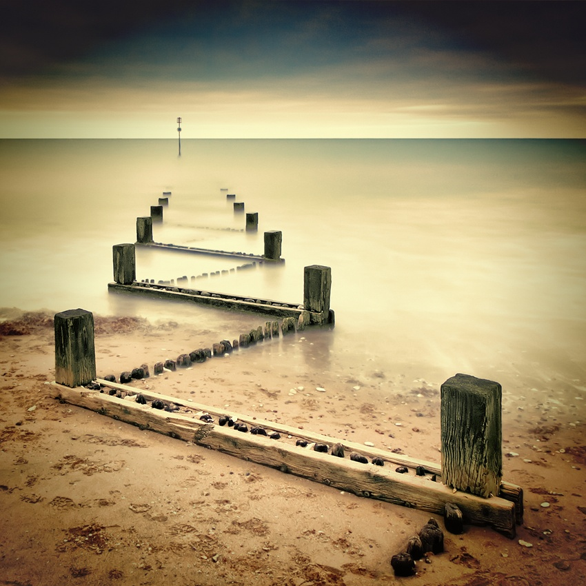Fotokonst Beach Memories