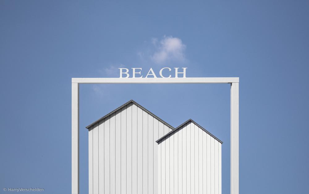 Fotokonst Beach.