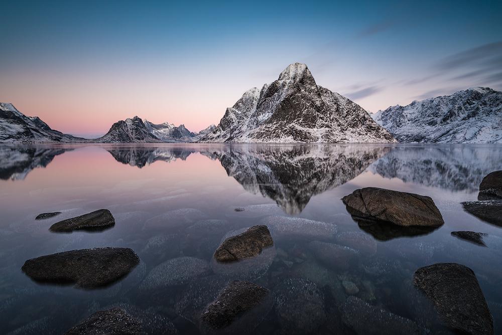 Fotokonst arctic mirror