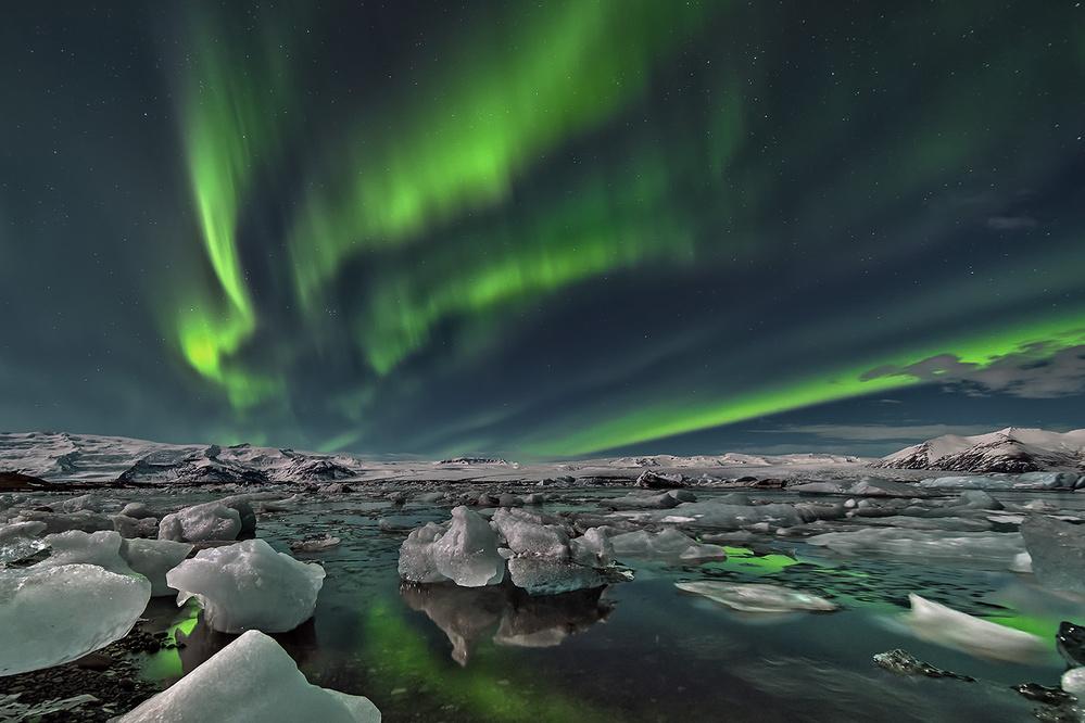 Fotokonst Ice Lake