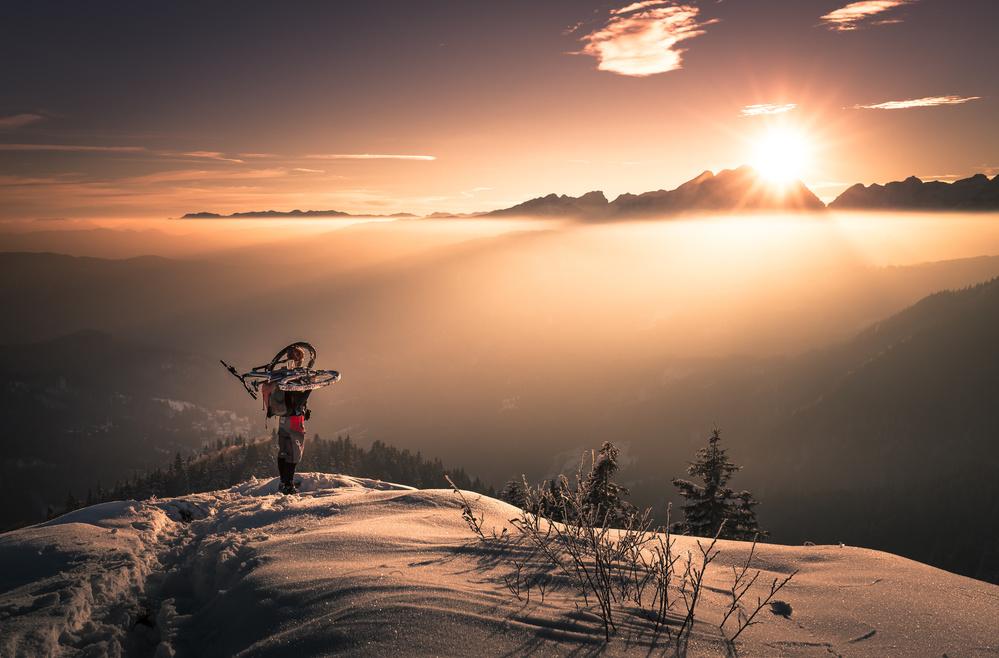 Fotokonst Greeting to the Sun