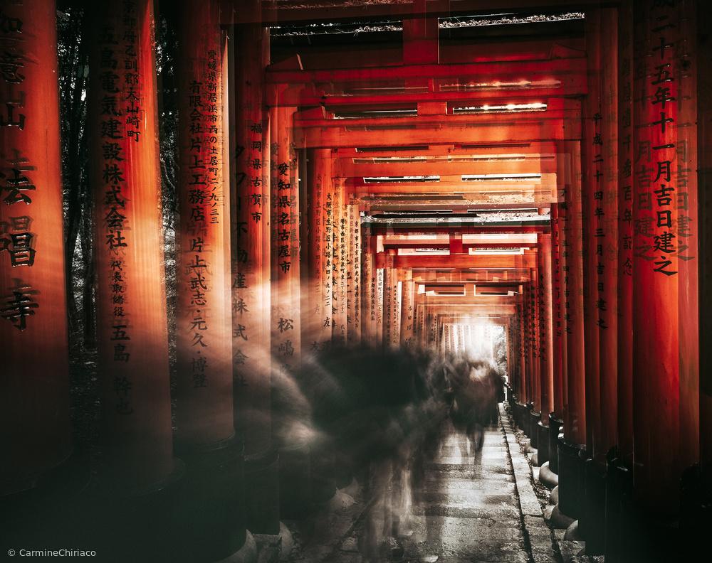 Fotokonst Fushimi Inari Shrine