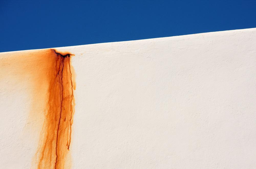 Fotokonst Tears of a white wall
