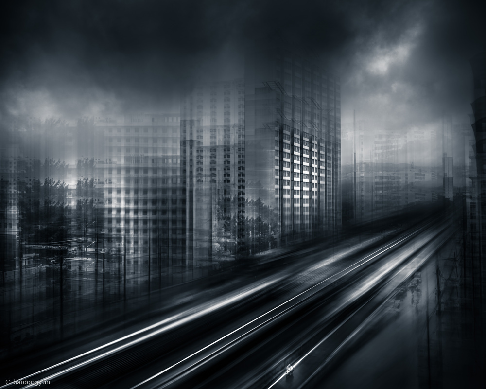 Fotokonst Industrial community TISCO