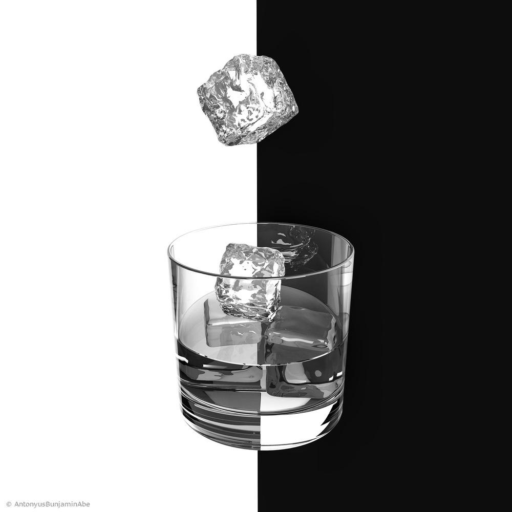 Fotokonst Ice and Wine