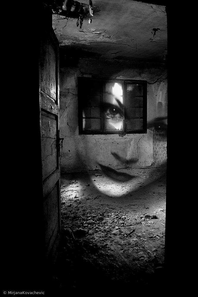 Fotokonst A ghost