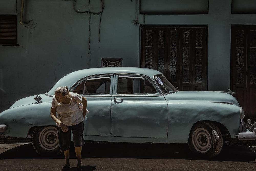 Fotokonst Passing Street
