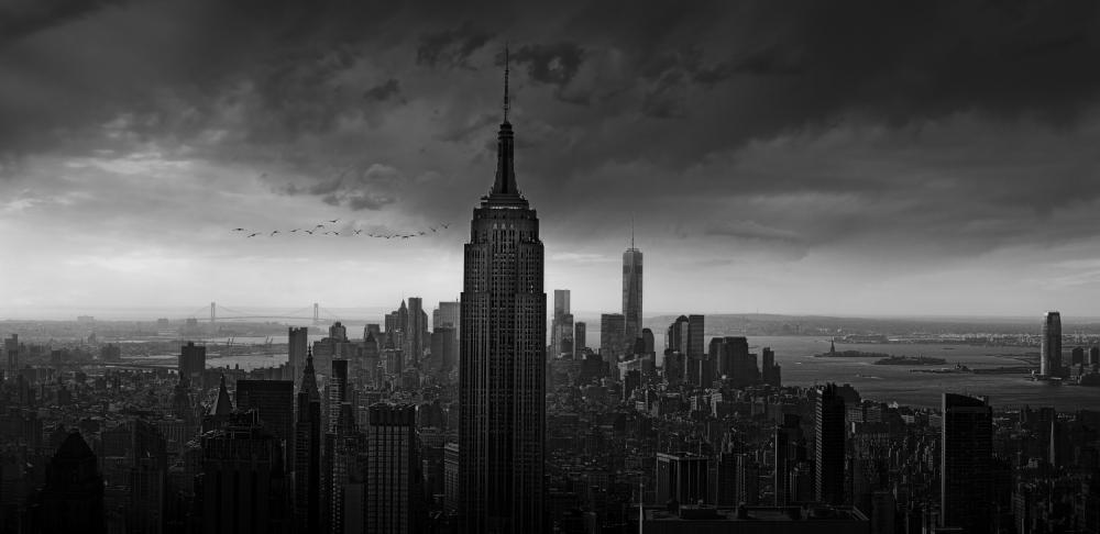 Fotokonst New York Rockefeller View