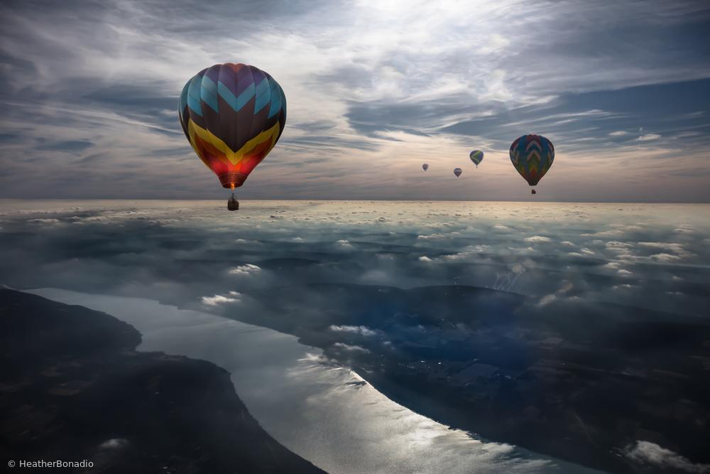 Fotokonst To Kiss the Sky