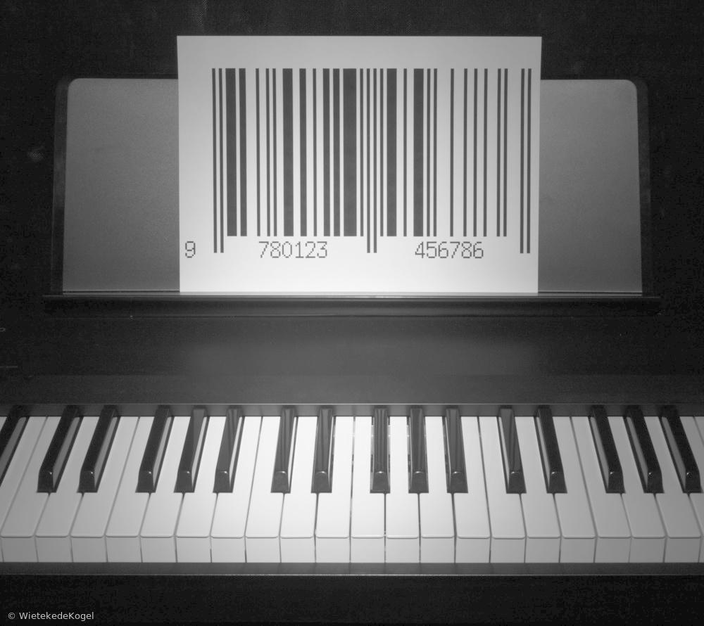 Fotokonst Play the piano