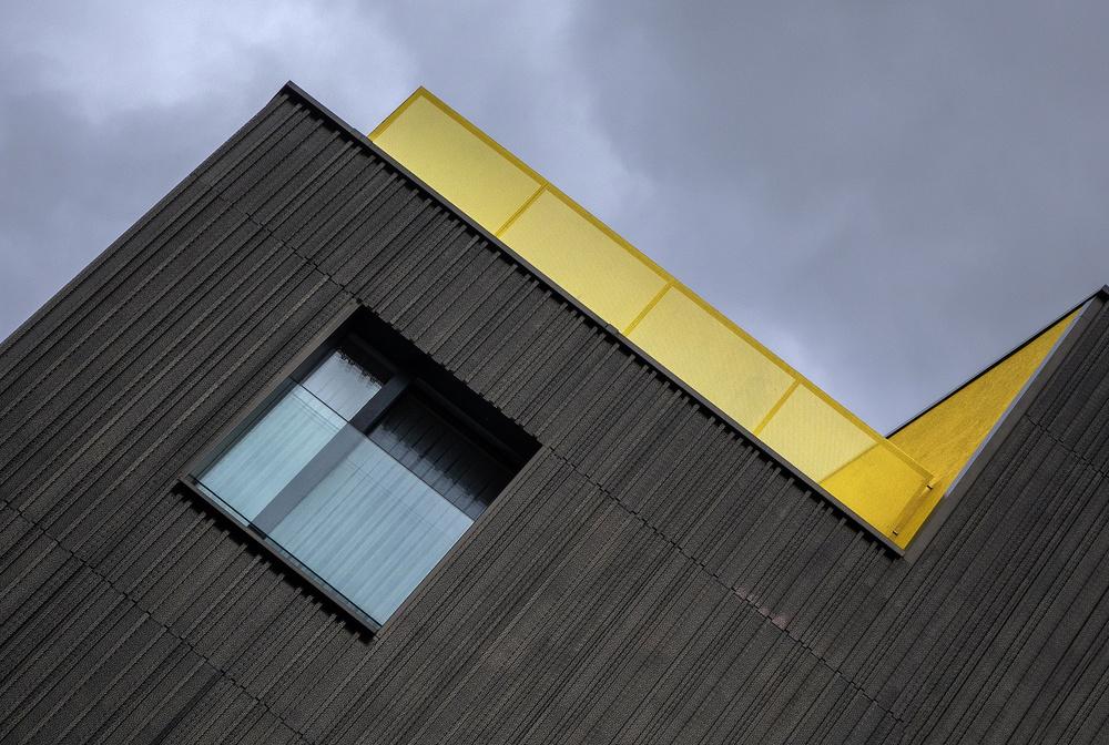 Fotokonst The yellow balcony