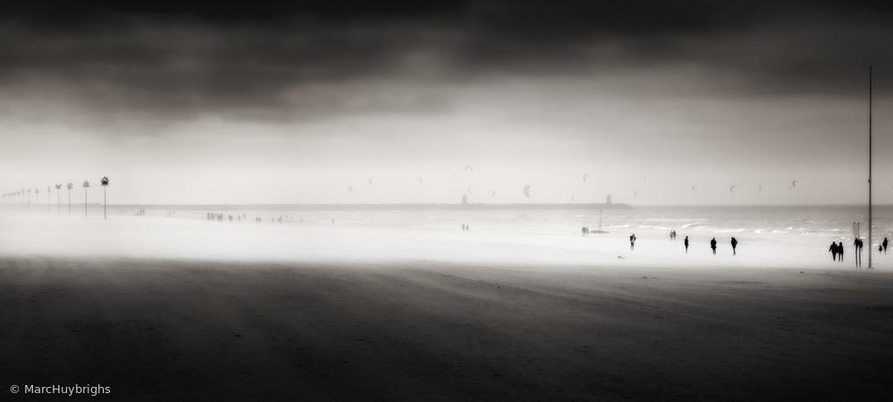 Fotokonst Windy beach