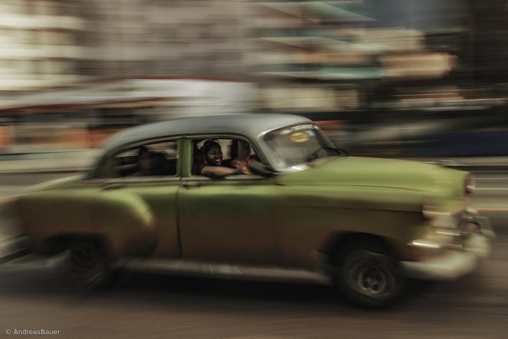 Fotokonst Panning Havana