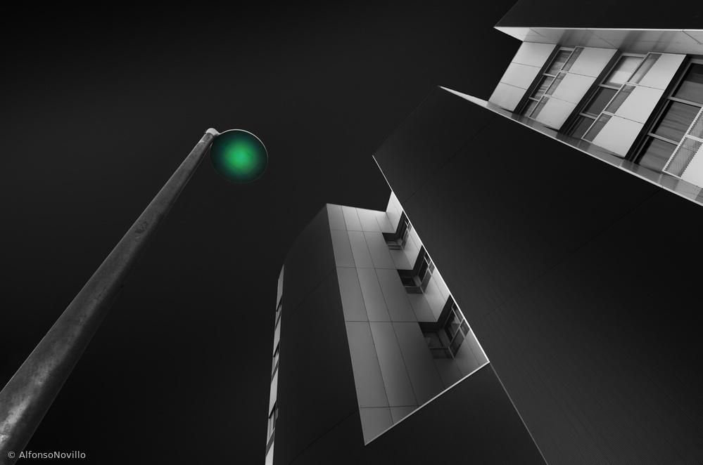Fotokonst Green Light