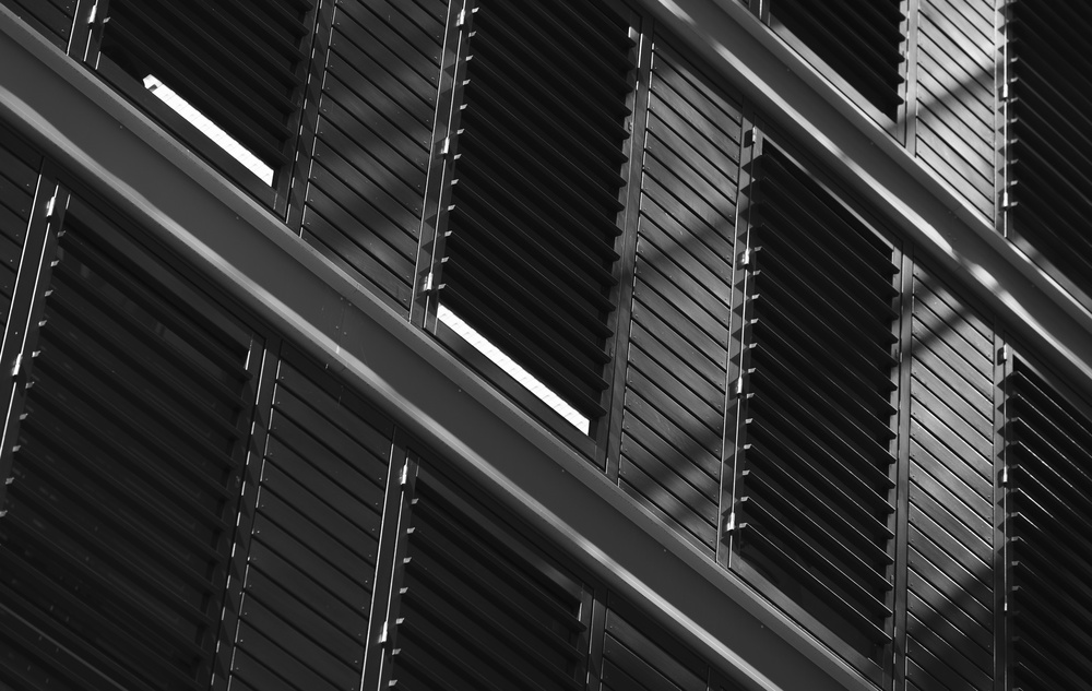 Fotokonst Blinds and shadows
