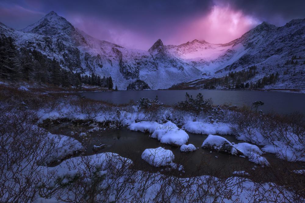 Fotokonst Frozen Paradise