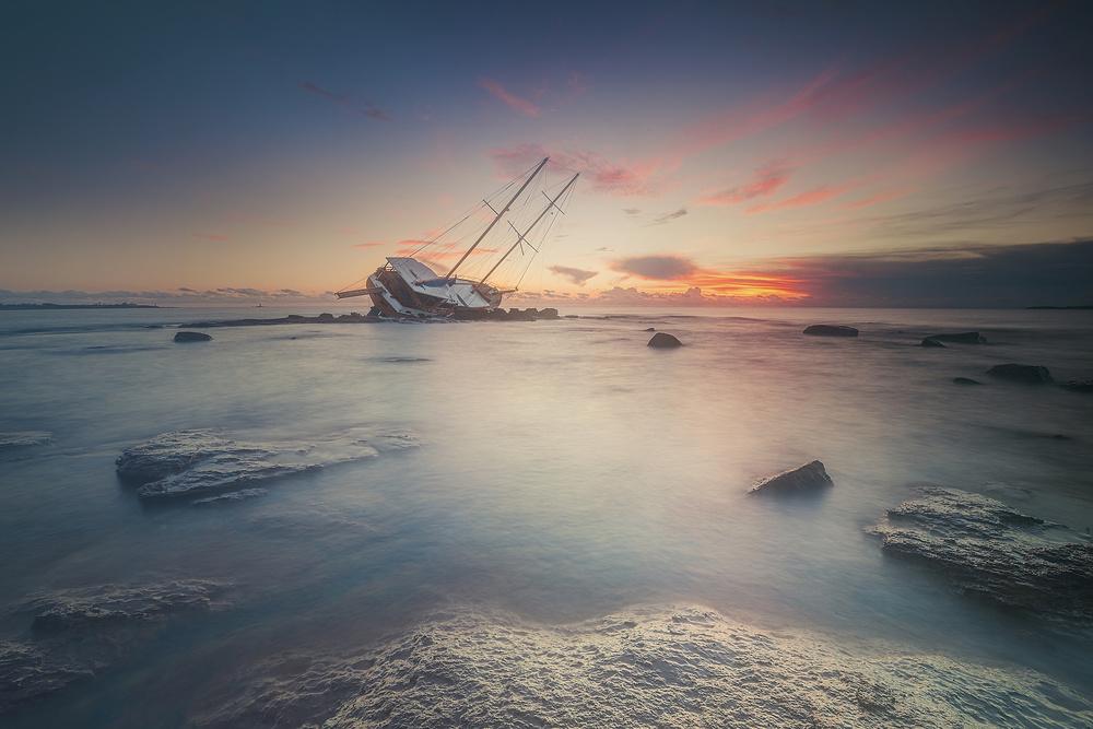 Fotokonst Adrift