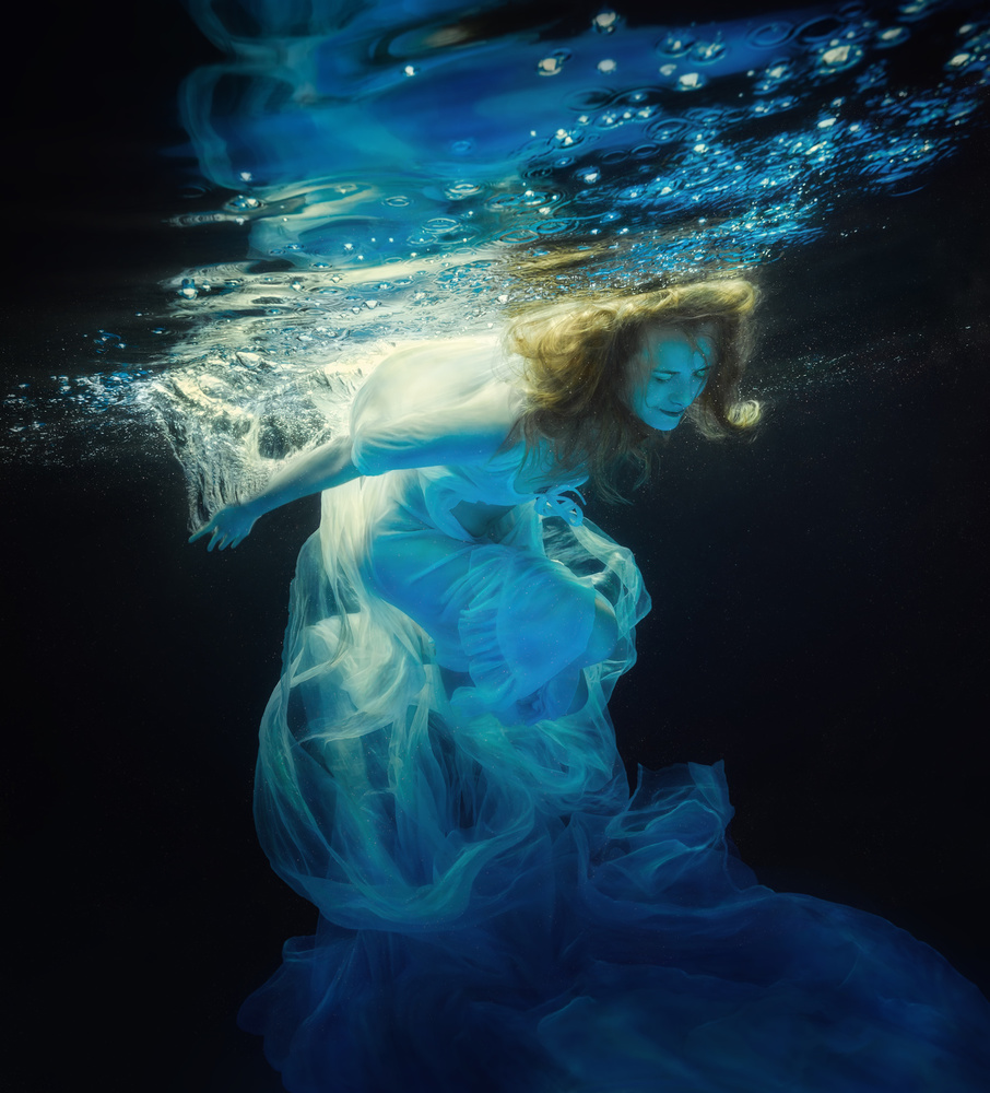 Poster Underwater space
