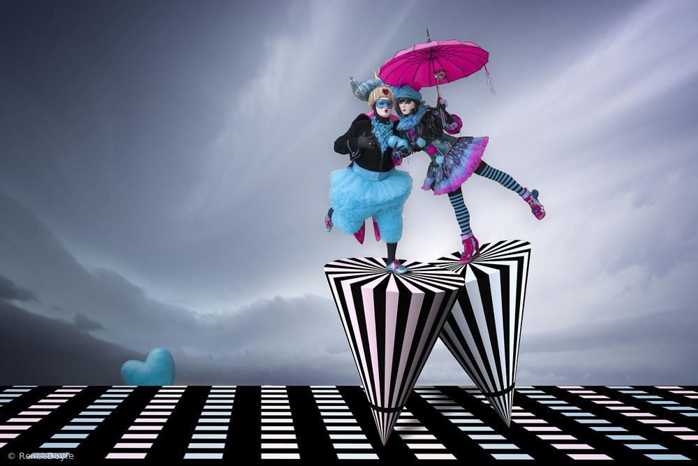 Fotokonst Spinning on the Runway of Love