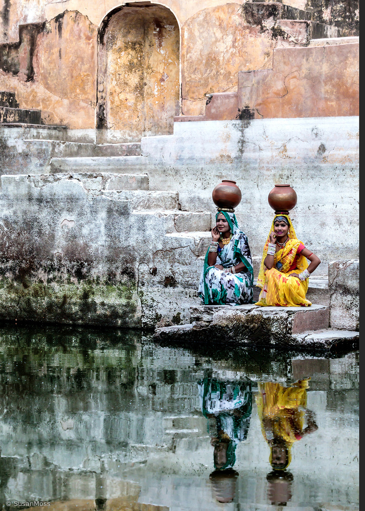 Poster Stepwell Reflections
