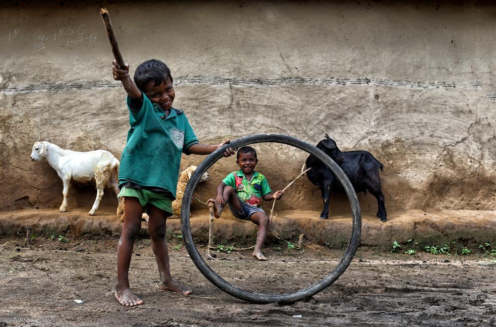 Fotokonst Joy of Childhood