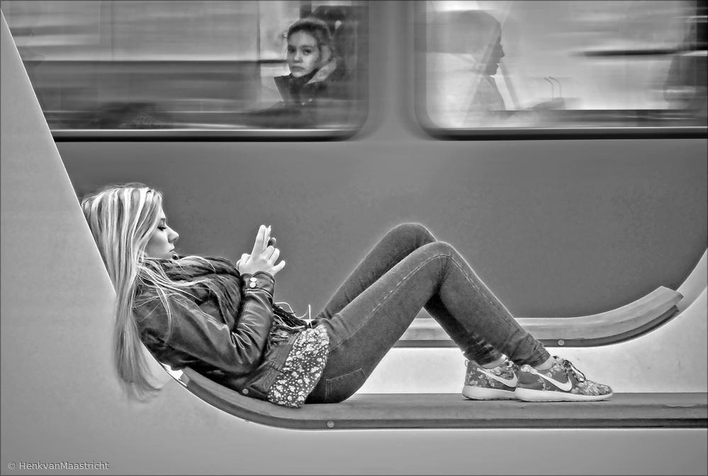 Fotokonst Passengers