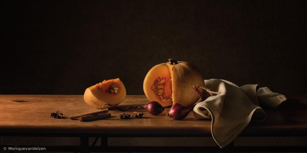 Fotokonst Still life pumpkin