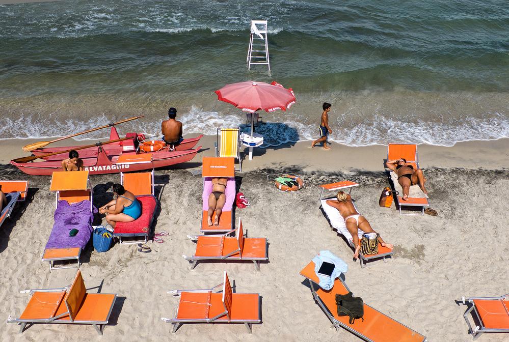 Fotokonst The beach