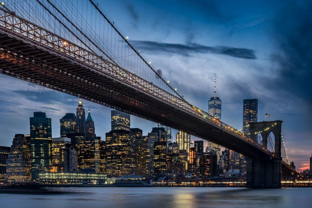 Fotokonst Manhattan from Dumbo