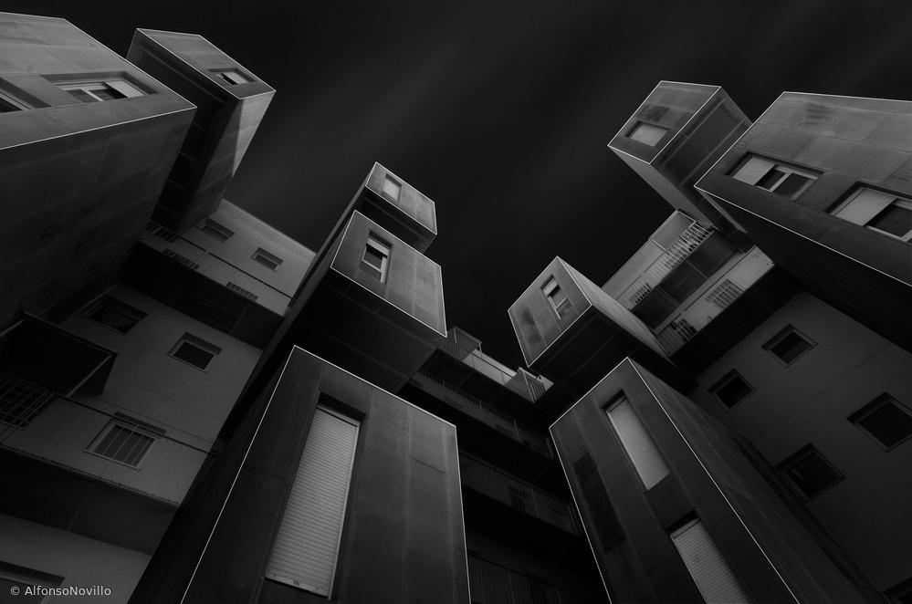 Fotokonst Cubes