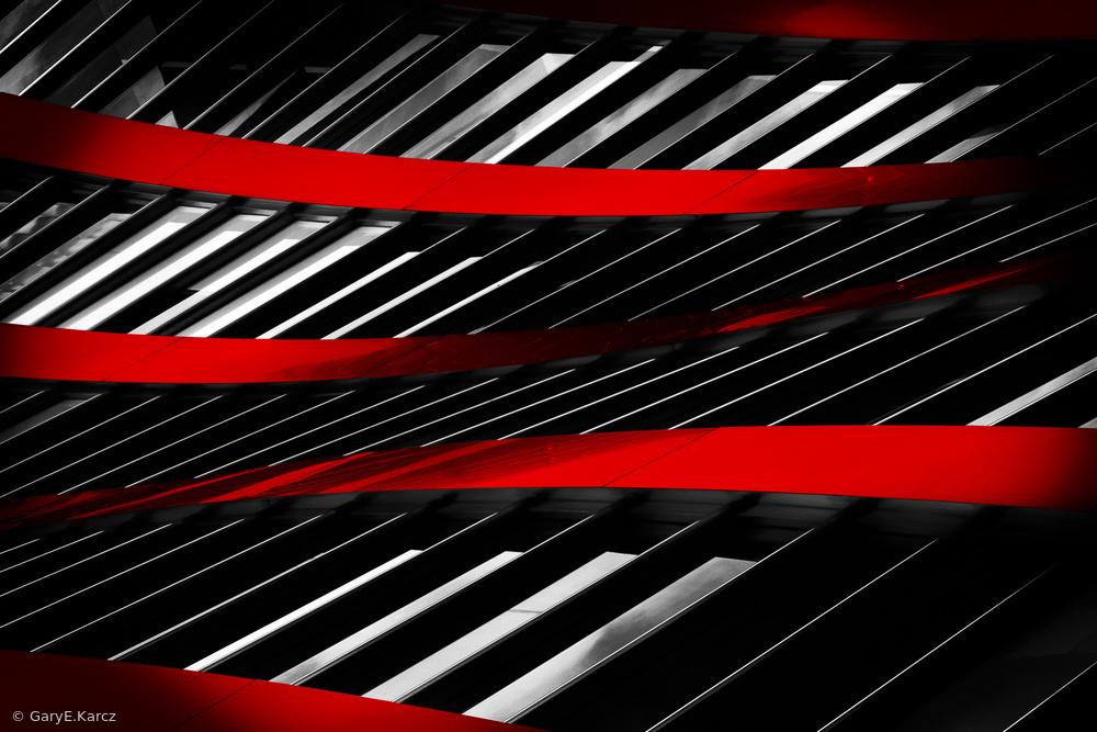 Fotokonst Ribbons