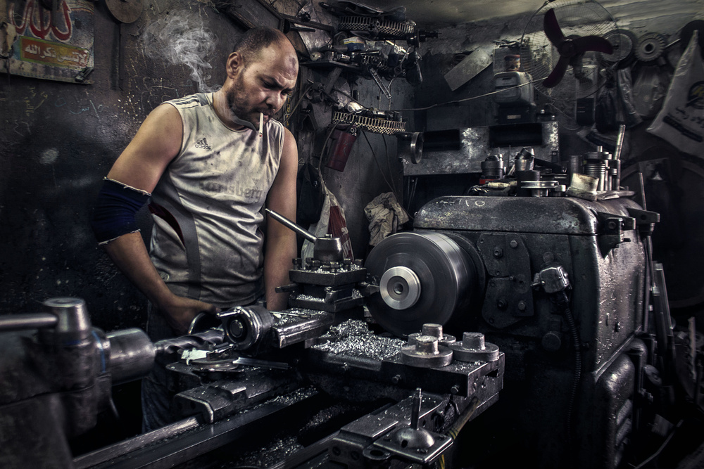 Lathe Guy.. Like a Boss !