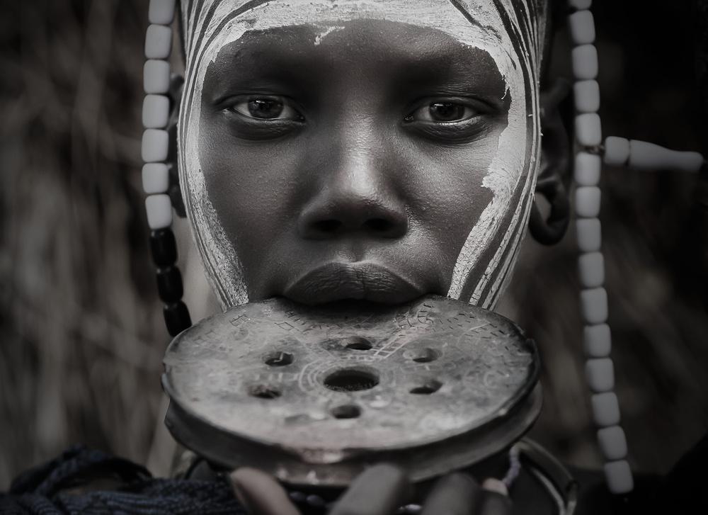 Fotokonst Mursi soul