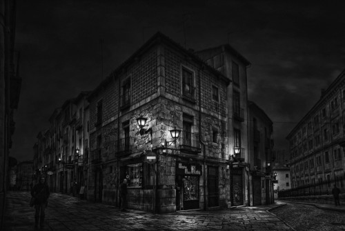 A corner of Salamanca by Jose C. Lobato