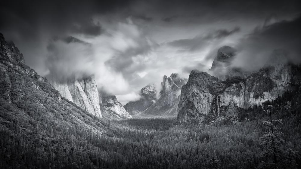 Fotokonst Yosemite Valley
