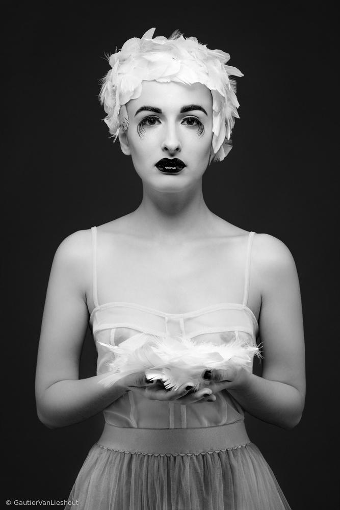 Fotokonst Miss Birdy