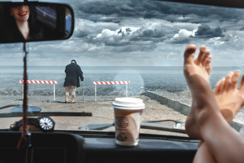 Fotokonst The road of life