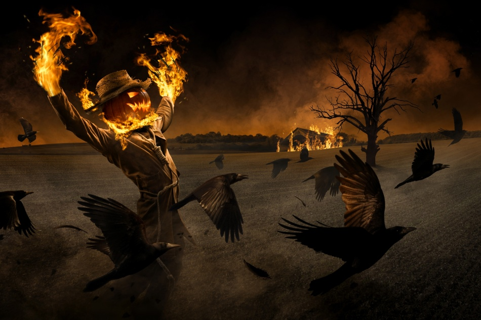 Fotokonst Jack-o\'-Scarecrow