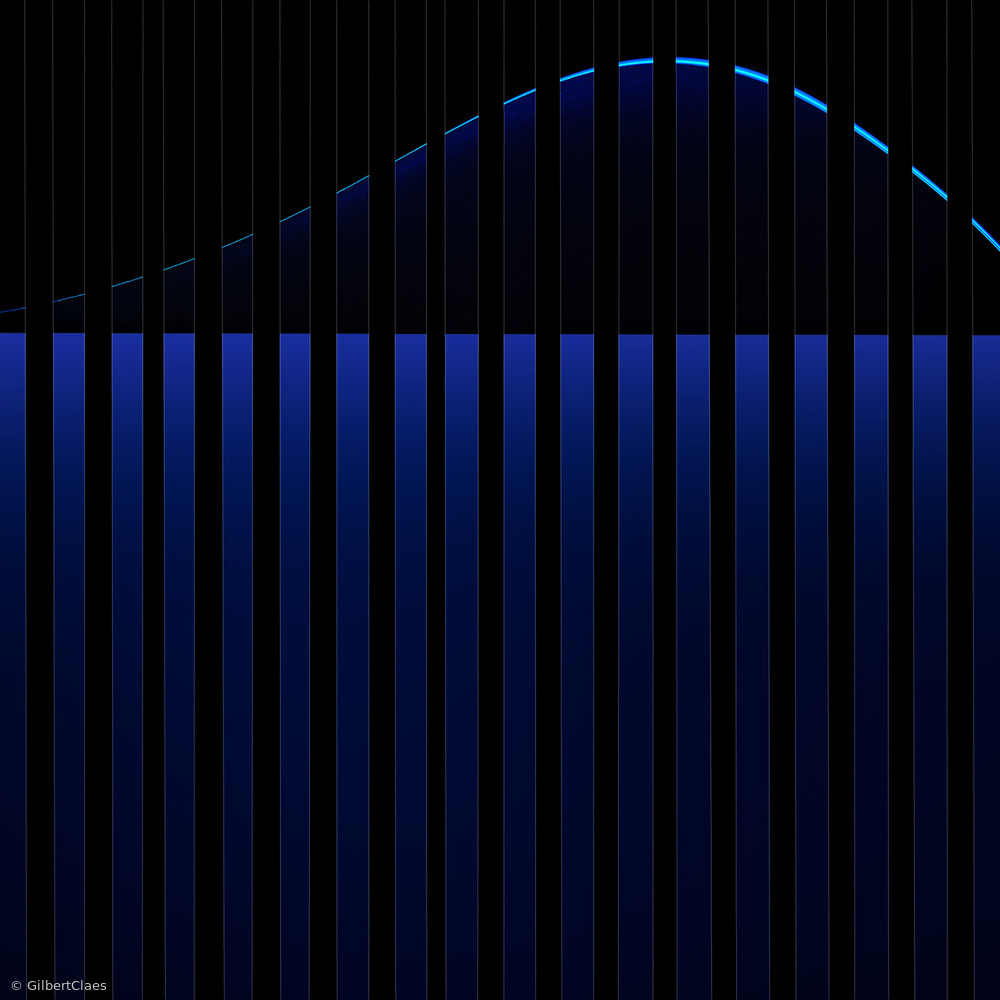 Poster blue piano